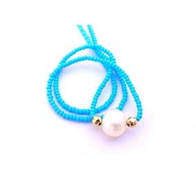 Collar Perla En Micro Chaquira Good Mood