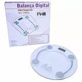 Balança Digital De Vidro, Acompanhe Seu Emagrecimento