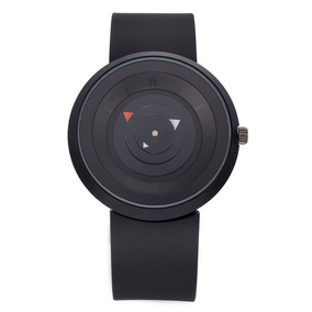 Relógio Minimalista Ponto E Traço Importado