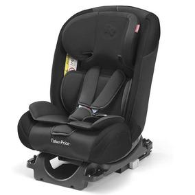 Cadeira Cadeirinha Carro Preta Fisher Price Isofix Cod Bb562
