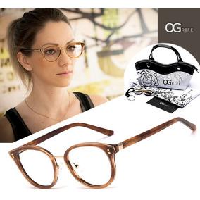 Oculos De Grau Arredondado - Óculos no Mercado Livre Brasil d25498d48a
