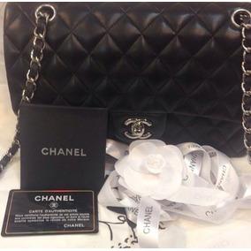 816c850da Chanel Couro Original Caviar 2.55 Classic Flap Bege Nude - Bolsas no ...