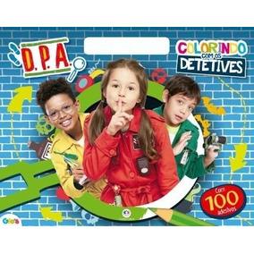 Dpa Colorindo Com Os Detetives Livro + 100 Adesivos