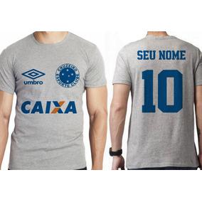 17643b325eb13 Camiseta Cruzeiro Personalizada Com Seu Nome E Numero - Camisetas no ...