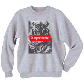 Buzo Supreme Tigre Personalizados Unisex