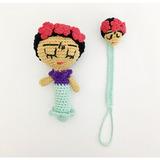 Portachupetes Tejidos A Crochet Para en Mercado Libre Argentina fc4259b8f92