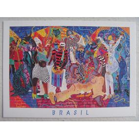 Cartão Postal Carnaval De Almada Ramos Terra Empreendimentos