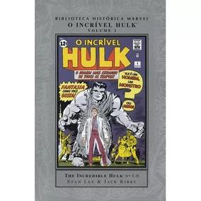 Biblioteca Histórica Marvel - O Incrível Hulk 01