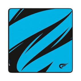 Mousepad Gamer Gfallen Abstrato Ciano - Speed Grande 5mm