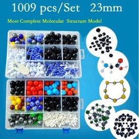 Kit Modelo Molecular Quimica Orgânica 1009 Peças