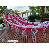 Rede De Dormir Descanso Casal Flamengo Fc Super Oferta