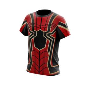 Camiseta 100% Poliéster Cm500 Homem Aranha Infantil