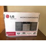 Microcomponente Lg Completamente Nuevo Y Sellado
