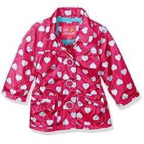 Pink Platinum Bebé Niñas Impreso Anorak Chamarra Con Forro P