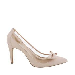 Zapatilla Yaeli Um33 Color Beige Nude Altura 10cm - Zapatos de Mujer ... 8d4cfa7364dad