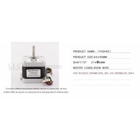 Kit 5 Motor Nema17 17h4401 42bygh 42 1.7a Impressora 3d, Cnc