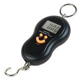 Balança Portátil Digital Mão Bolsa Mala Peixe Até 50kg Ut02