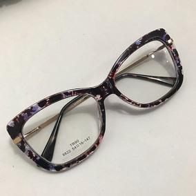 Armacao Oculos Feminino Grau Acetato - Óculos Lilás no Mercado Livre ... 87381eca25