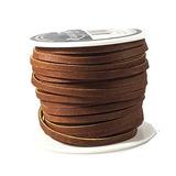 Encaje Cordon Leather Topgrain Latigo Medium Brown 50 Foot S