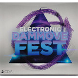 Electronic Dammove Fest Coleccion Varios 2 Discos Cd