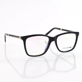 Armacao De Oculos Feminino Preto Com Rosa Dolce Gabbana - Óculos no ... c77fb071d7