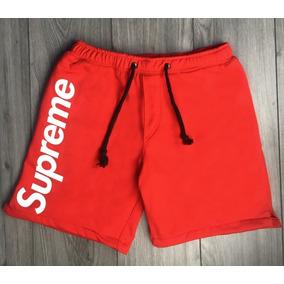 Short Moda Supreme Swag Street Verano Rojo-negro-naranj-gris