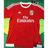 1e16cb6476 Camisa Oficial adidas Benfica Portugal 2015 Tamanho M