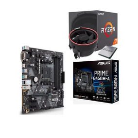 Kit Amd Ryzen R7 2700 Mb Asus Prime B450m A