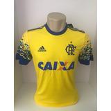 Camisa Flamengo Amarela adidas 2017/2018