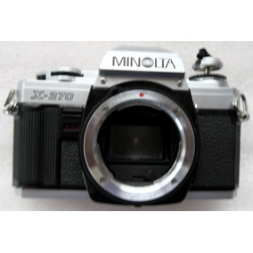 Am Minolta X-370 Cuerpo Camara Rollo 135 35mm 24x36 Bazardpp