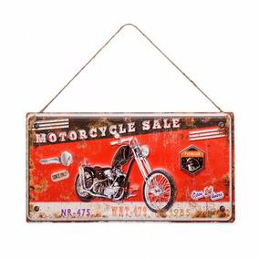 Placa Motorcycle Ludi Imaginarium