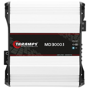 Modulo Taramps Md 3000.1 4 Ohm 3000w Amplificador Automotivo