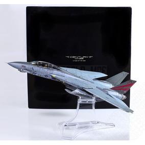 Miniatura Avião Caça Em Metal Escala 1/72 F-14 Century Wings