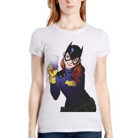 Batman Batgirl Selfie Comic Gotham Dc Playera