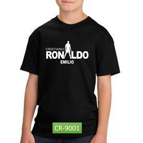Playera Ronaldo Cr7 Real Madrid Regalo Día Del Niño