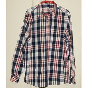 cb80698f8 Camisa Xadrez Vermelha - Camisa Manga Longa Masculinas, Usado no ...