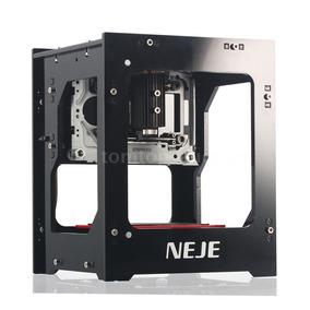 Mini Gravadora Impressora Laser Neje 1500mw - Pronta Entrega