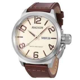 0317205a754 Relógio Magnum Masculino Ma33399a - Relógios De Pulso no Mercado ...