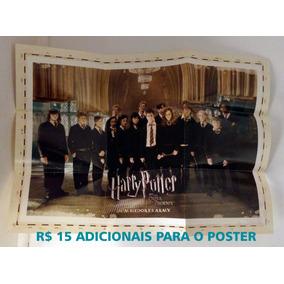 Pôster Harry Potter E A Ordem Da Fenix - Frete 8 Reais Carta