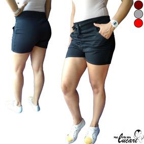 0a5457704 Moletom Colegial Vermelho Feminino - Shorts Preto em Goiás no ...