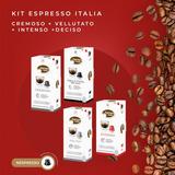 120 Cápsulas Café Compatíveis Nespresso - Espresso Italia