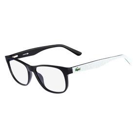 96547ea68c588 Armacao Oculos De Grau Quadrado Masculino Lacoste - Óculos no ...