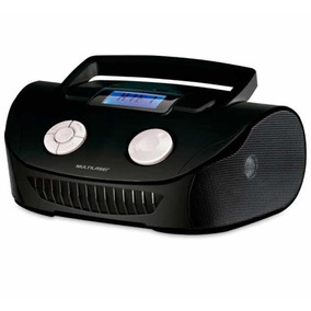 Som Portátil Boombox Multilaser 15w Fm Usb Mp3 Sd Sp182