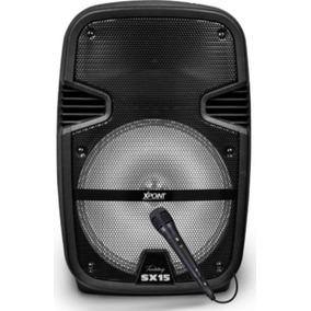 Parlante Activo Profesional Bluetooth Micrófono Zonalaptop