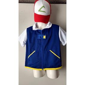 Disfraz Ash Ketchum - Disfraces para Niños en Mercado Libre México 4bc8df1b7f0e