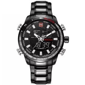 269ec5a436e Relogio Naviforce Preto Aço - Relógios no Mercado Livre Brasil