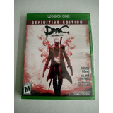 Devil May Cry Definitive Edition Xbox One Nuevo Sellado