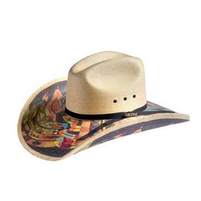 Sombrero Vaquero Para Hombre De Palma Estilo California 30x 67b4ead234c