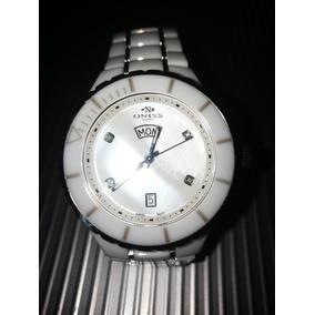Reloj Oniss. Suizo. Cuatro Brillantes. Original.