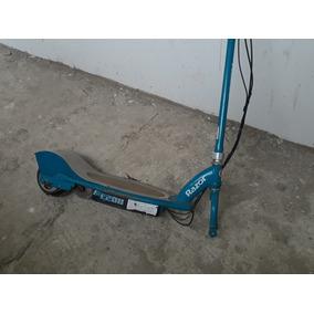 Monopatin Electrico Razor E200,caucho Delantero Espichado.